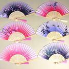 秀色小古風扇子折扇中國風日式古典舞蹈女式古裝折疊扇復古日用扇