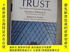 二手書博民逛書店BUILDING罕見PUBLIC TRUST:the futur