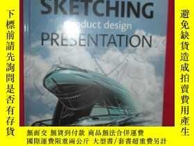 全新書博民逛書店Sketching:Product Design Present