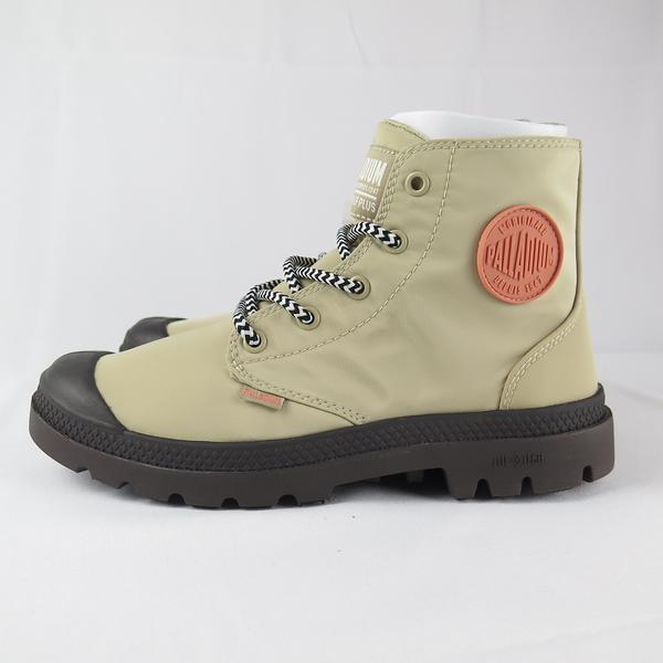 Palladium PAMPA PUDDLELITE+WP 女款橘標高筒靴 76117249 卡其X咖啡【iSport】