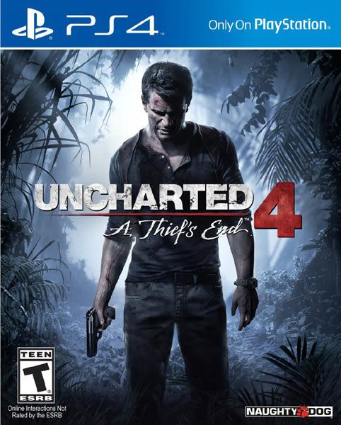 PS4 Uncharted 4: A Thief's End 秘境探險 4:盜賊末路(美版代購)