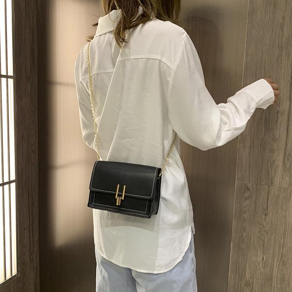 夏季小挎包包女包2020新款潮流行韓版百搭單肩斜挎時尚鏈條小方包(免運)