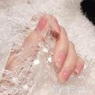 透明指甲油女裸色持久可撕拉免烤快幹裸粉色無毒無味護甲油網紅款『快速出貨』