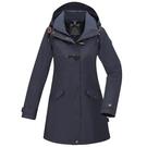 【南紡購物中心】【歐都納】女款GORE-TEX 2L+羽絨兩件式防水外套(A1GT1910W深藍)