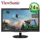 全新優派ViewSonic VX2457-mhd 24型電競螢幕 1ms/一年保無亮點 VX2457MHD