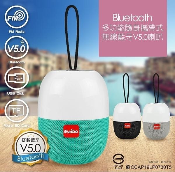 台灣公司貨 新版5.0 多功能攜帶藍芽音箱 藍牙喇叭 無線喇叭音箱 藍芽喇叭 喇叭