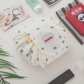 化妆包—韓國大容量懶人包便攜多功能簡約抽繩化妝包小號旅行網紅收納包 依夏嚴選
