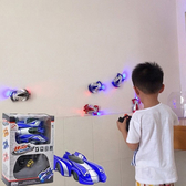 爬墻車 遙控汽車吸墻車充電遙控車玩具車 兒童玩具男孩4歲10-12歲【免運】