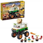LEGO 樂高 Creator 3 合 1怪物漢堡卡車 31104  (499 件)