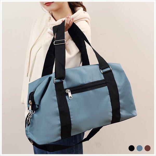 旅行袋-大容量尼龍旅行袋-共3色-A13130010-天藍小舖
