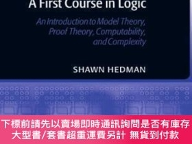 二手書博民逛書店A罕見First Course In LogicY464532 Shawn Hedman Oxford Uni
