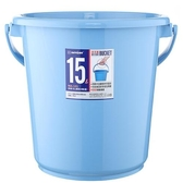 KEYWAY 舒適圓型水桶WA-151-藍(15L)【愛買】