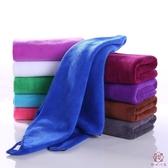10條裝 超強吸水毛巾包頭干發毛巾專用發廊美發【櫻田川島】