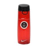 Nike Water Bottle [NOB55602OS] 運動 路跑 單車 登山 輕便 訓練 水壺 紅 中 24OZ
