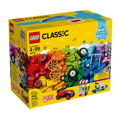 樂高積木LEGO《 LT10715 》2018 年Classic 經典基本顆粒系列 - 滾動的顆粒╭★ JOYBUS玩具百貨