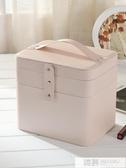 化妝包 女大容量多功能簡約便攜大號化妝品收納包網紅手提化妝箱 韓慕精品
