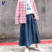 【春夏新品】American Bluedeer - 剪接抽皺長裙(特價) 春夏新款