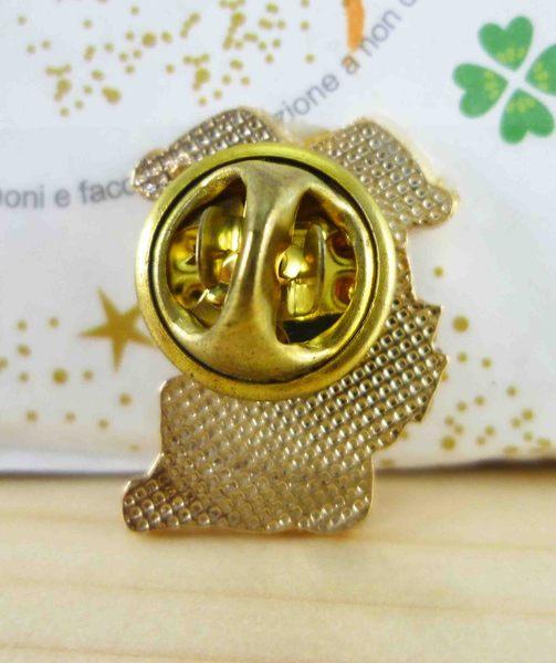 【震撼精品百貨】Hello Kitty 凱蒂貓~KITTY造型徽章-小丑變魔術