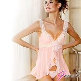 慾望之都情趣用品 情趣睡衣 薄紗 罩衫 外套 細肩帶 連身裙 Gaoria 愛的蜜糖 性感網紗 睡裙