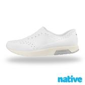 native LENNOX 男/女鞋-貝殼白x牛奶骨x鴿子灰