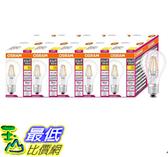 [COSCO代購] W125403 歐司朗6.5W LED調光型燈絲燈泡E27-10入