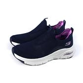 SKECHERS ArchFit 休閒運動鞋 女鞋 深藍色 厚底 149415NVPR no369