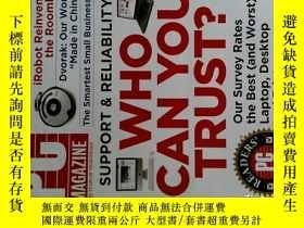 二手書博民逛書店PC罕見Magazine 2007年10月16日 英文個人電腦雜誌 可用樣板間道具雜誌Y14610