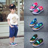 新款兒童中大童運動鞋女童鞋網鞋透氣韓版男童鞋網面童鞋 秘密盒子