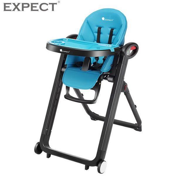 傳佳知寶 EXPECT 多功能兒童餐椅 藍色