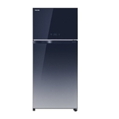 24期0利率 基本安裝+舊機回收 TOSHIBA東芝 608L 變頻無邊框鏡面電冰箱 GR-AG66T(GG) 玻璃藍