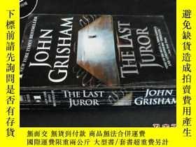 二手書博民逛書店THE罕見LAST JUROR JOHN GRISHAMY591