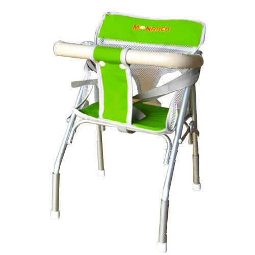 【奇買親子購物網】MONARCH 幼兒可調式機車椅(活潑綠/亮眼橘/活潑藍)