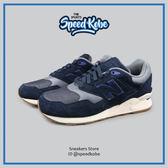 NEW BALANCE 休閒鞋 深藍 膠底 麂皮 皮革 情侶 男女 ML878OSB【SP】