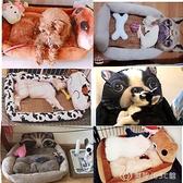 寵物泰迪狗窩貓窩小型犬中型犬貓咪四季通用狗床狗屋夏季夏天