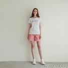 【GIORDANO】女裝純棉素色抽繩卡其休閒短褲-30 粉紅