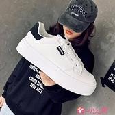 小白鞋 小白鞋女2021春季新款女鞋學生百搭厚底板鞋爆款休閒鞋子女潮 小天使