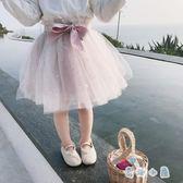 女童網紗裙半身裙 洋氣蓬蓬裙公主裙【奇趣小屋】