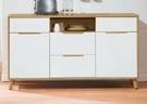 【南洋風休閒傢俱】餐櫃系列- 肯詩特烤白雙色5尺餐櫃 碗碟櫃 櫥櫃 碗盤櫃 收納櫃 置物櫃 CX837-4