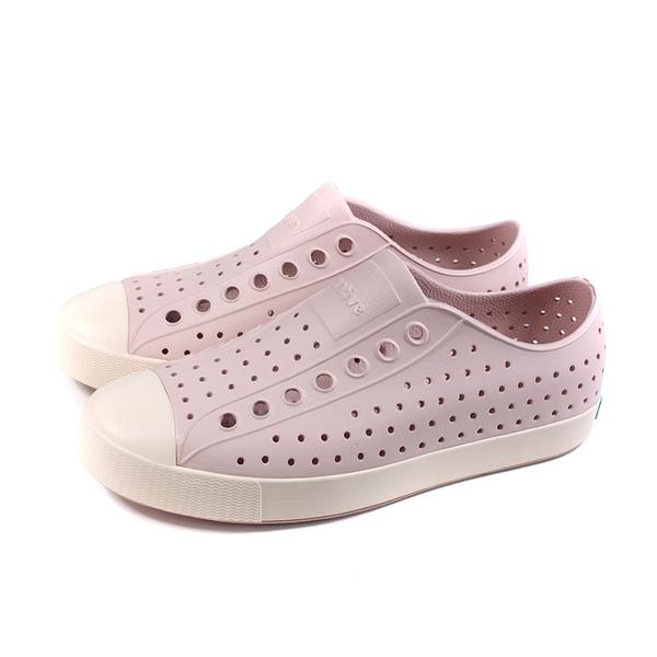 native 休閒鞋 洞洞鞋 藕粉色 男女款 11100100-5611 no029