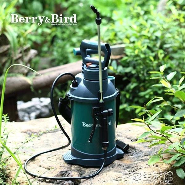 噴霧器 酒精噴壺家用氣壓式農神器噴霧器高壓消毒手動澆水澆花5L