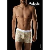 Aubade man-舒棉M-XL平口褲(50星光)