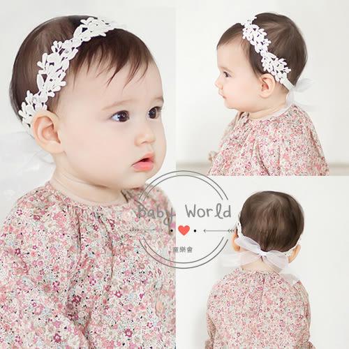 髮帶 嬰兒 寶寶 韓版 花朵 蝴蝶結 頭飾 BW