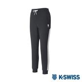 K-SWISS Traning Pants女運動長褲-女-黑