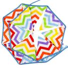 [韓風童品] 12片波浪紋棉布三角旗 嬰兒房佈置 露營 戶外野營 帳篷裝飾 婚慶典禮三角旗