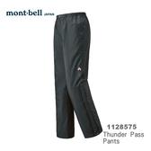 【速捷戶外】日本 mont-bell 1128575 THUNDER PASS 女高透氣防水長褲 (灰),登山雨褲,防水長褲