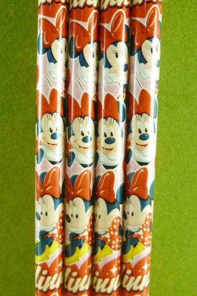 【震撼精品百貨】Micky Mouse_米奇/米妮 ~4入2B鉛筆-粉米妮