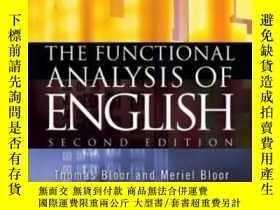 二手書博民逛書店The罕見Functional Analysis Of EnglishY256260 Thomas Bloor