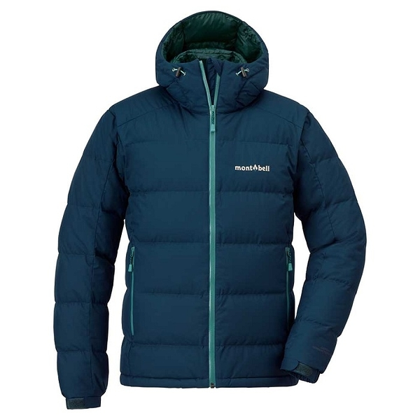 日本 MONT-BELL Permafrost Light Down Parka 新款 羽絨背心/羽毛衣/羽絨衣/雪衣/800FP 男款 1101501 BLBK 海軍藍