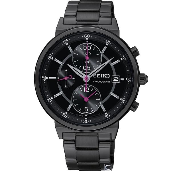 SEIKO精工魔法時光計時腕錶 7T92-0VN0SD SNDV27P1