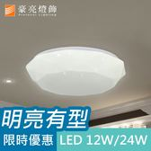【豪亮燈飾】LED 12W 柯瑞吸頂燈~美術燈、吊燈、吸頂燈、壁燈、吊扇燈、工業風、燈泡